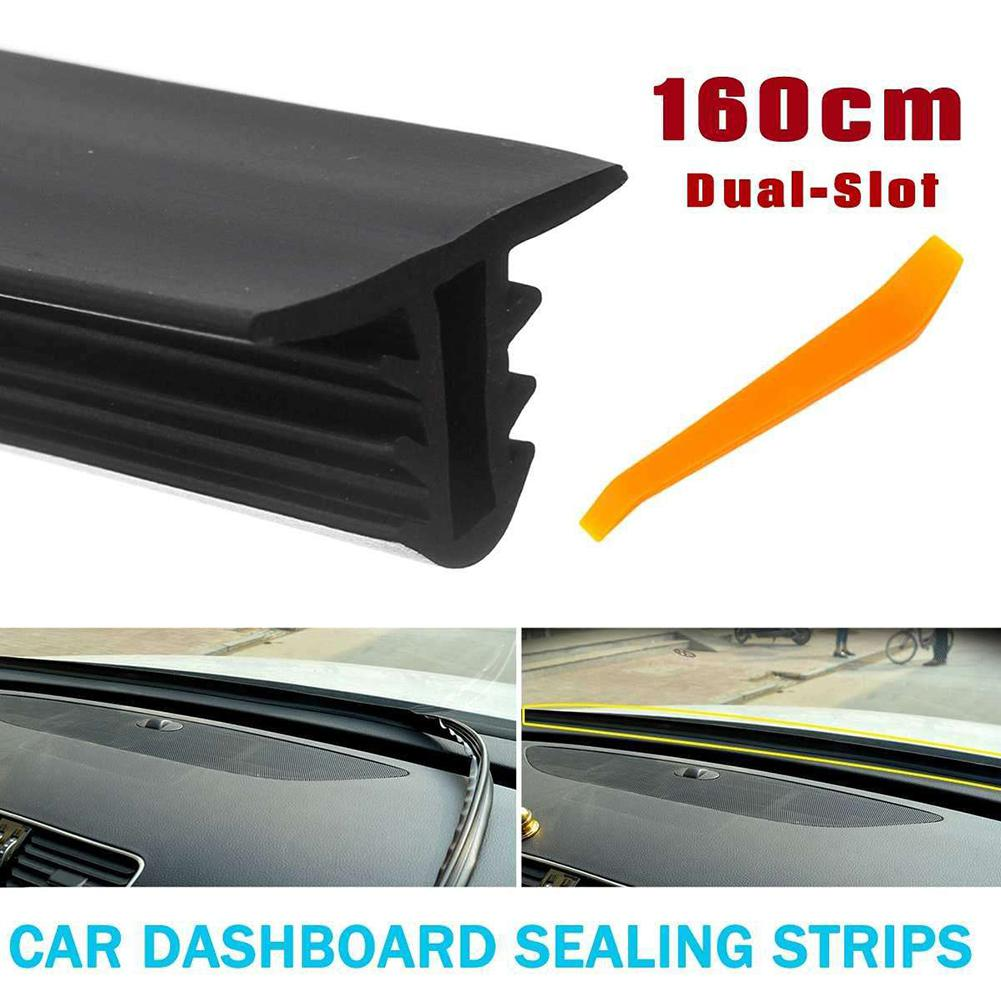 1.6M Car Stickers Dashboard Sealing Strips Auto Interior Car Styling Sticker Accessories Universal Car Interior Accessories