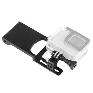 Image 3 - Bgning Aluminium Handheld Gimbal Adapter Schakelaar Mount Plaat Voor Dji Moza Stabilisatoren Voor Gopro Max 8 7 6 5 actie Camera