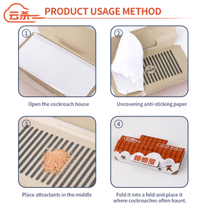 Image 5 - 10Pcs/lot Cockroach Killer Insect Trap Strong Sticky Catcher Traps Environmental Insect Pest Repeller Roach Cucarachas Trap