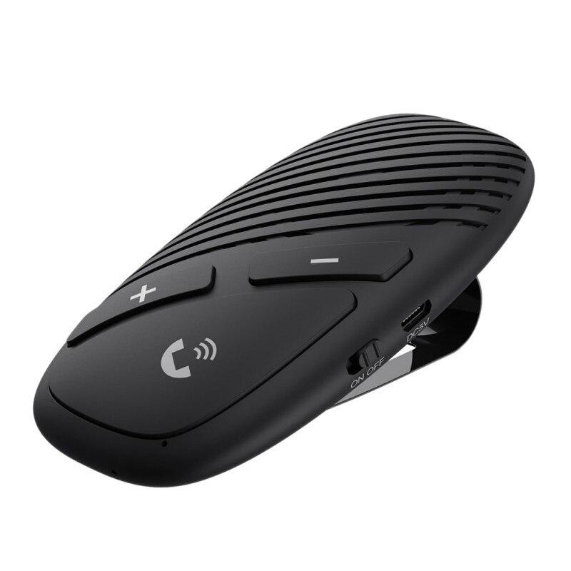 Gran oferta Bluetooth 5,0 Car transmisor receptor reproductor de música manos libres llamada adaptador inalámbrico - 2