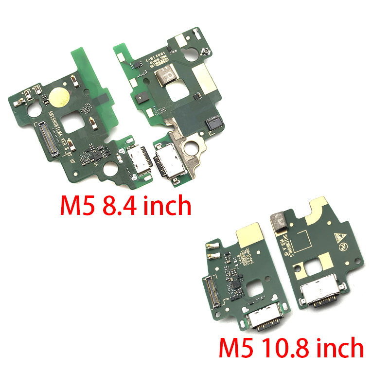 USB Charging Charger Port Dock Connector Flex Cable With Microphone Board For Huawei MediaPad M5 8.4 Inch & 10.8 Inch
