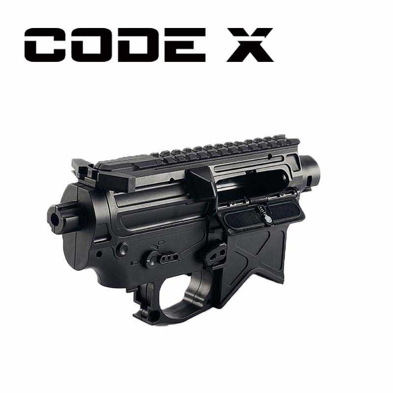 Pistola de bateria xm316toy, pistola de bola de gel xm4a1 gen 8 com acessórios