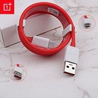 Original OnePlus 6 Cable Dash 5t 5 3t 3/35/100/200cm USB 3,1 tipo C rápido Cable cargador rápido para uno más tres cinco T seis