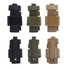 Tactical Outdoor Scissor Flashlight Molle Pouch Magazine EDC Bag Case Multifunctional For Tourniquet