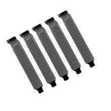 3 шт разъем pci чехол черного цвета для перфорирования металла