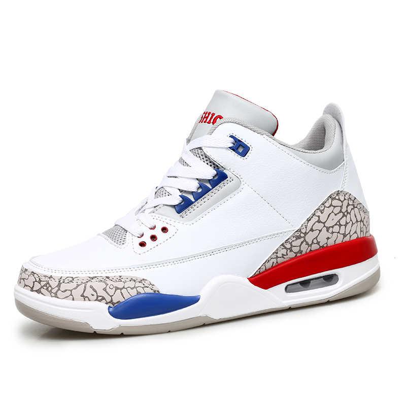 Man High-top Jordan Basketbal Schoenen mannen Demping Licht Basketbal Sneakers Anti-slip Ademende Outdoor Sport Jordan schoenen