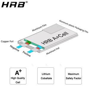 Image 5 - HRB pistola de agua Lipo con batería 3S 2S, 7,4 V, 11,1 V, 1100mAh, 25C, conector Tamiya, AKKU, Mini Airsoft, BB, pistola de aire, piezas de control remoto