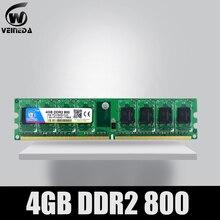 VEINEDA ميموري رام ddr2 4 gb 800 pc2 6400 متوافق ddr2 4 gb 667 PC5300 إنتل AMD موبو