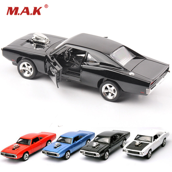 sound and light 1:32 car Furious Cars Model Scale 1970 Dodge Charger Model Alloy Toy Cars Diecast Toys for Boy Kids gift 1 32 scale car model x90 tesla alloy 1 32 diecast model car w sound