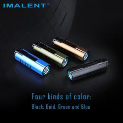 IMALENT LD70 4000 lúmenes Linterna potente al aire libre CREE XHP70.2 LED recargable Handlight impermeable portátil