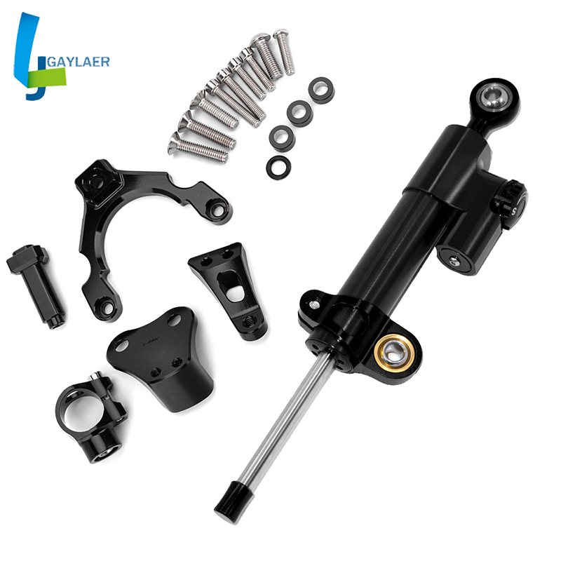 Motorcycle Z900 Steering Stabilize Damper Bracket Mount for <font><b>Kawasaki</b></font> <font><b>Z</b></font> <font><b>900</b></font> <font><b>2017</b></font> 2018 2019 image
