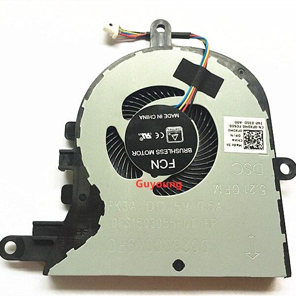 Cpu ventilador de refrigeração para dell latitude 3590 l3590 e3590 para inspiron 15 5570 5575 ventilador cooler fx0m0 0fx0m0 cn-0FX0M0