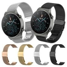 Cinturino Milanese in maglia metallica per Huawei Watch GT 2 Pro GT2 Smartwatch cinturino da polso per Honor ES / MagicWatch cinturino