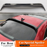 2014 to 2017 Car Styling ABS Plastic Painting Color Rear Wing Roof Spoiler For Mercedes Benz CLA W117 CLA180 CLA200 CLA250 CLA45