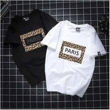 SZMALL Newest 2020 France Women T Shirt Short Sleeve letter Tops Tee la