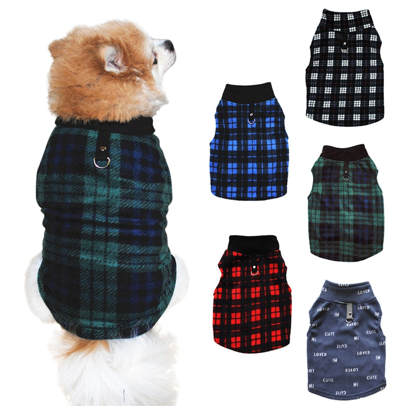 Pet T-shirt Puppy Dogs Sleeveless Costume Clothes Pet Shirt Casual Vests For Small Medium Large Pets Autumn Winter XS-XXXL