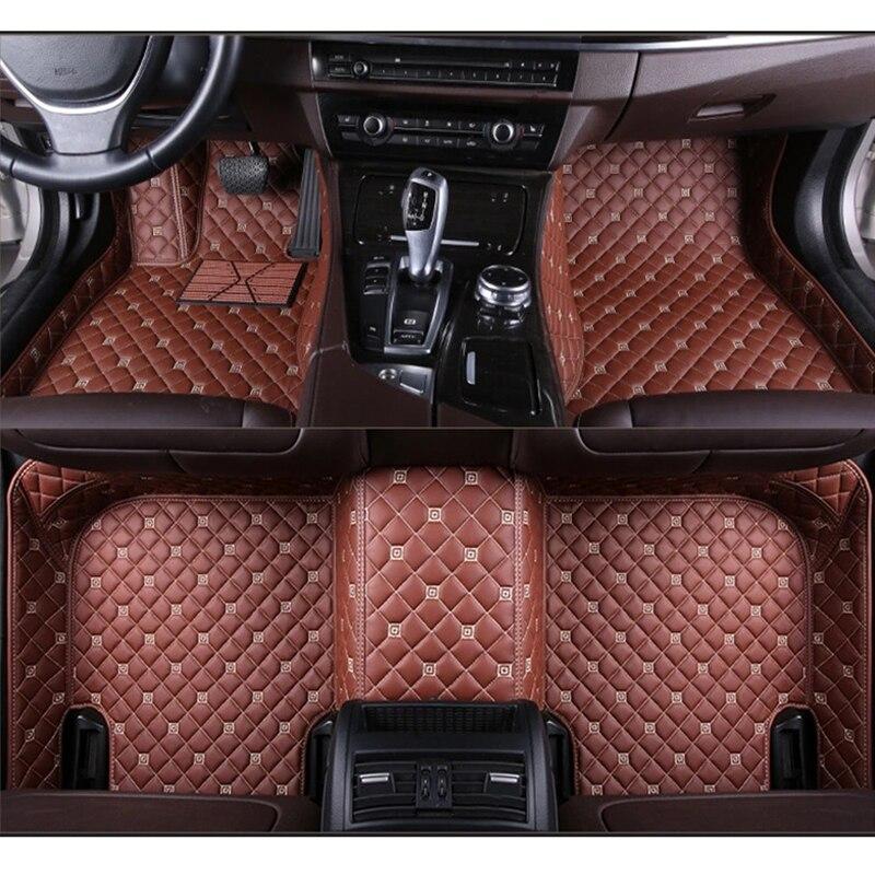 ZRCGL tapis de sol de voiture universel pour Lincoln tous les modèles Navigator MKZ MKC MKX MKS MKT accessoires auto de style de voiture