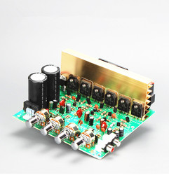 2.1 Subwoofer Power Amplifier Board High Power Amplifier Board with Cooling Fan Can Be Connected to the Bluetooth Board