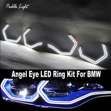 DRL LED Angel Eyes Kit Concept M4 Iconic Style DTM For BMW 2 3 4 Series F30 F31 F32 F34 F80 F82 F83 M2 Xenon/Halogen Headlight