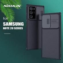 Para Samsung Galaxy Nota 20 Ultra caso Nillkin CamShield diapositiva Cámara Frosted Shield para Samsung Nota 20 S21 Ultra S20 más FE 5G