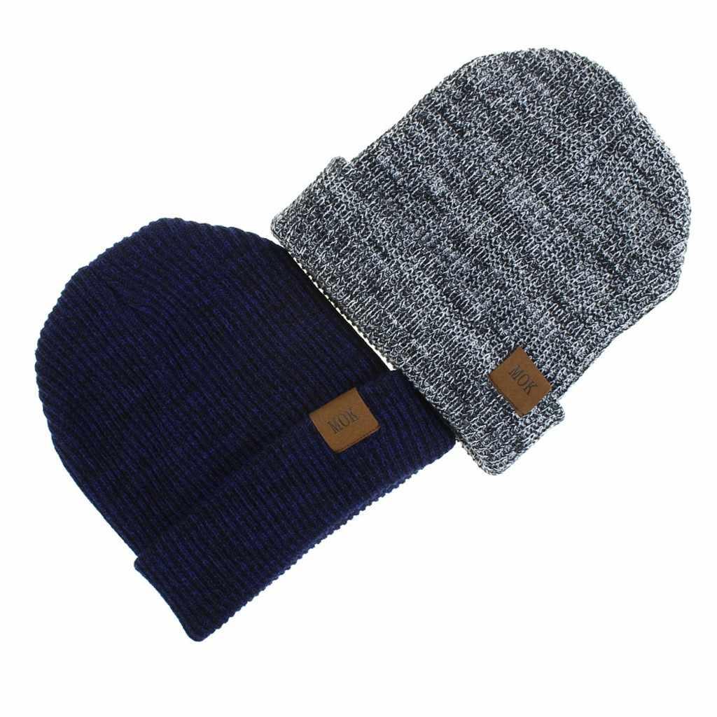 Mannen vrouwen Winter Hoed Gebreide Wol Beanie Vrouwelijke Mode Toevallige Outdoor Masker Ski Caps Dikke Warme Hoeden Voor vrouwen Mannen # YL5