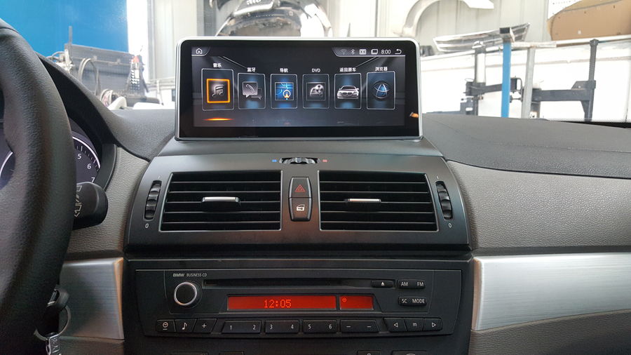 64GB rom Android 9.0 Auto Multimedia Player Für <font><b>BMW</b></font> <font><b>X3</b></font> <font><b>E83</b></font> 2004 2006 2009 10,25