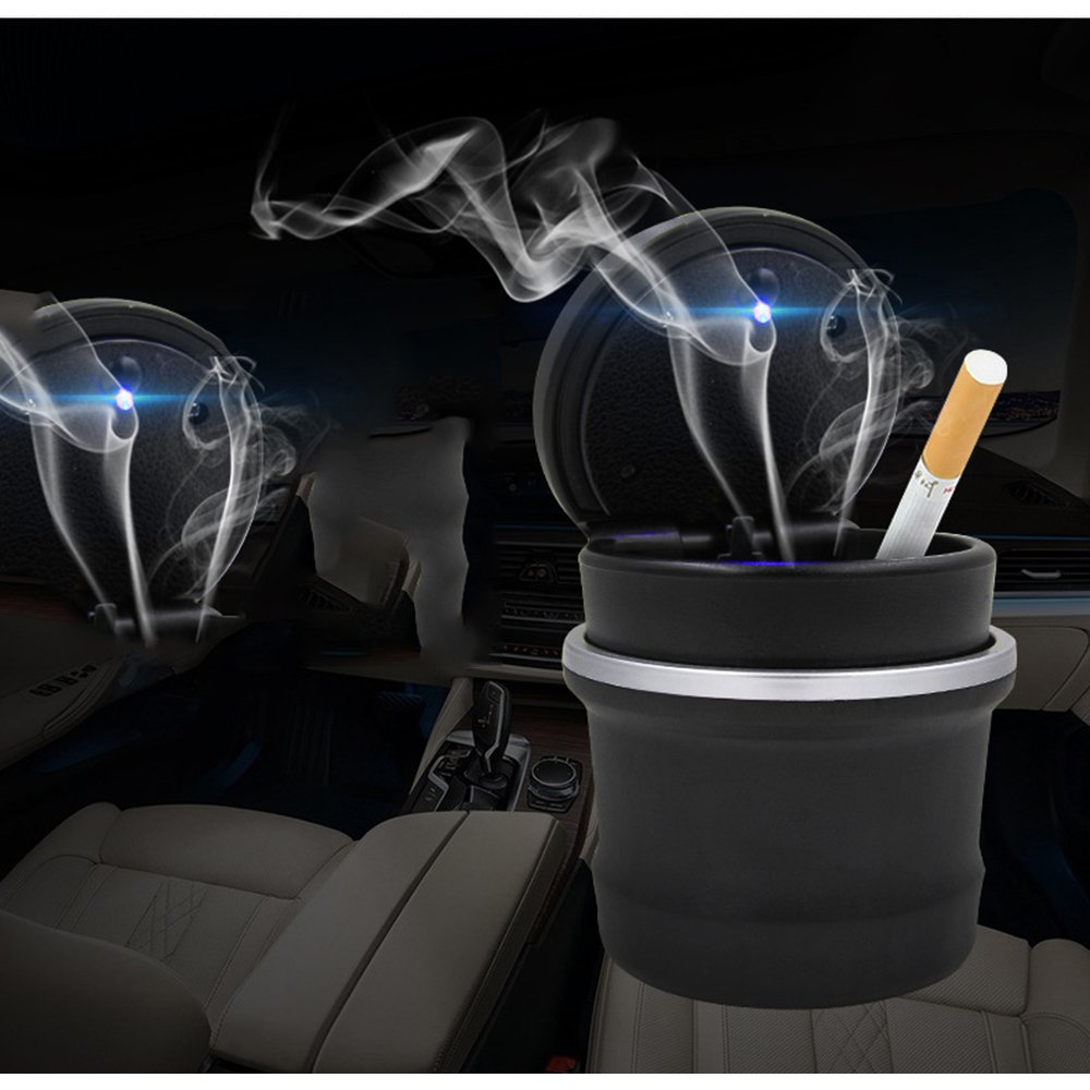Can Car-Accessories Car-Cup-Holder Cigarette-Lighter Car-Led-Ashtray Portable-Size  title=