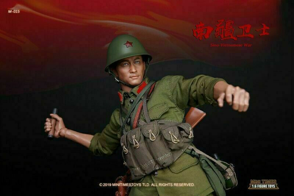 full set soldier figure 1/6 scale Mini times toys M015 PLA Sino-Vietnamese War Male Action Figure Model for fans collection toys 1