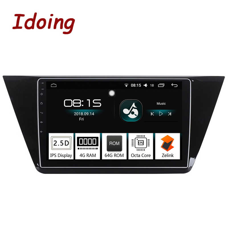 "Idoing 10.2 ""4G + 64G 2.5D Ips 8Core Auto Android Radio Multimedia Player Fit Vw Touran 2016 2017 Built-in di Navigazione Gps Glonass"