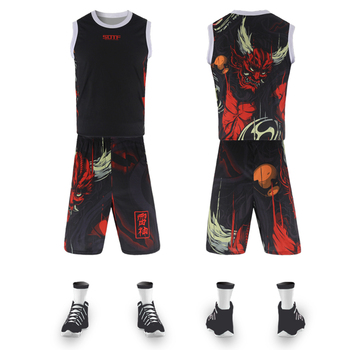 Thor rojo estilo chino entrenamiento street ball retro baloncesto jerseys equipo deportes camiseta de toronto raptors camiseta baloncesto hombres