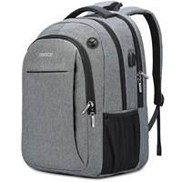 OSOCE Backpack Bag 15.6 Inch Laptopwith USB Charging Port Headphone Jack Waterproof Business Back Packs Bags
