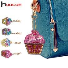 Huacan алмаз особенной формы живопись брелок мультфильм 5d Diy Алмазная мозаика аксессуары брелок сумка подарок