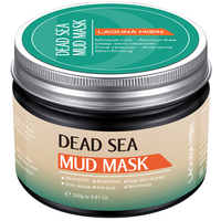 LAGUNAMOON Facial Deep Cleaning Natural Dead Sea Mud Mask Exfoliating Black Masks Skin Face Care 250g 2
