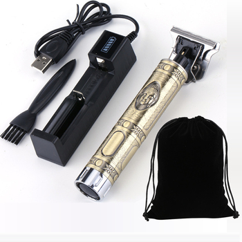 2020 rechargeable hair clipper barber haircut cutter mower cutting machine razor trimmer clippers beard trimmer for men