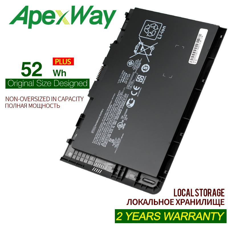 ApexWay New BT04XL Battery For HP EliteBook Folio 9470 9470M 9480M HSTNN-IB3Z HSTNN-DB3Z HSTNN-I10C BA06 687517-1C1 687945-001