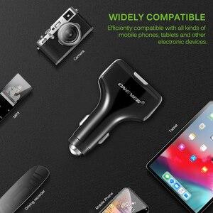 Image 5 - 무선 핸즈프리 FM 송신기 블루투스 자동차 MP3 플레이어 빠른 충전 3.0 5V USB 차량용 충전기 다기능 자동차 전자 제품