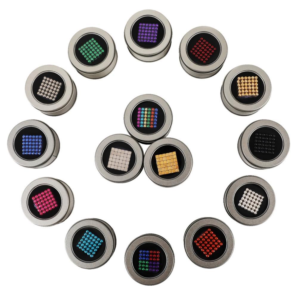 Drop Shipping 216Pcs/set 3mm Buck Ball Cube Puzzle Powerful Permanent Neodymium Magnet Sphere Creative Imanes Magic Strong NdFeB