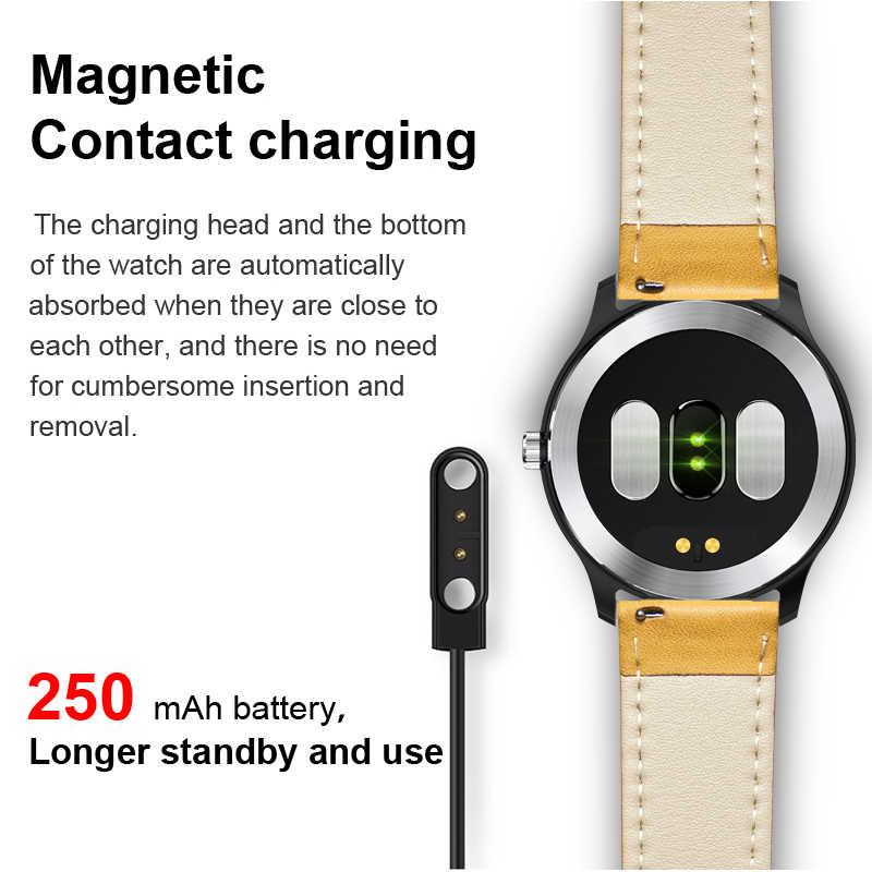 """ליגע אק""""ג PPG smart watch קצב לב צג לחץ דם smartwatch אק""""ג תצוגת שינה גשש כושר Smartwatch אנדרואיד IOS"""