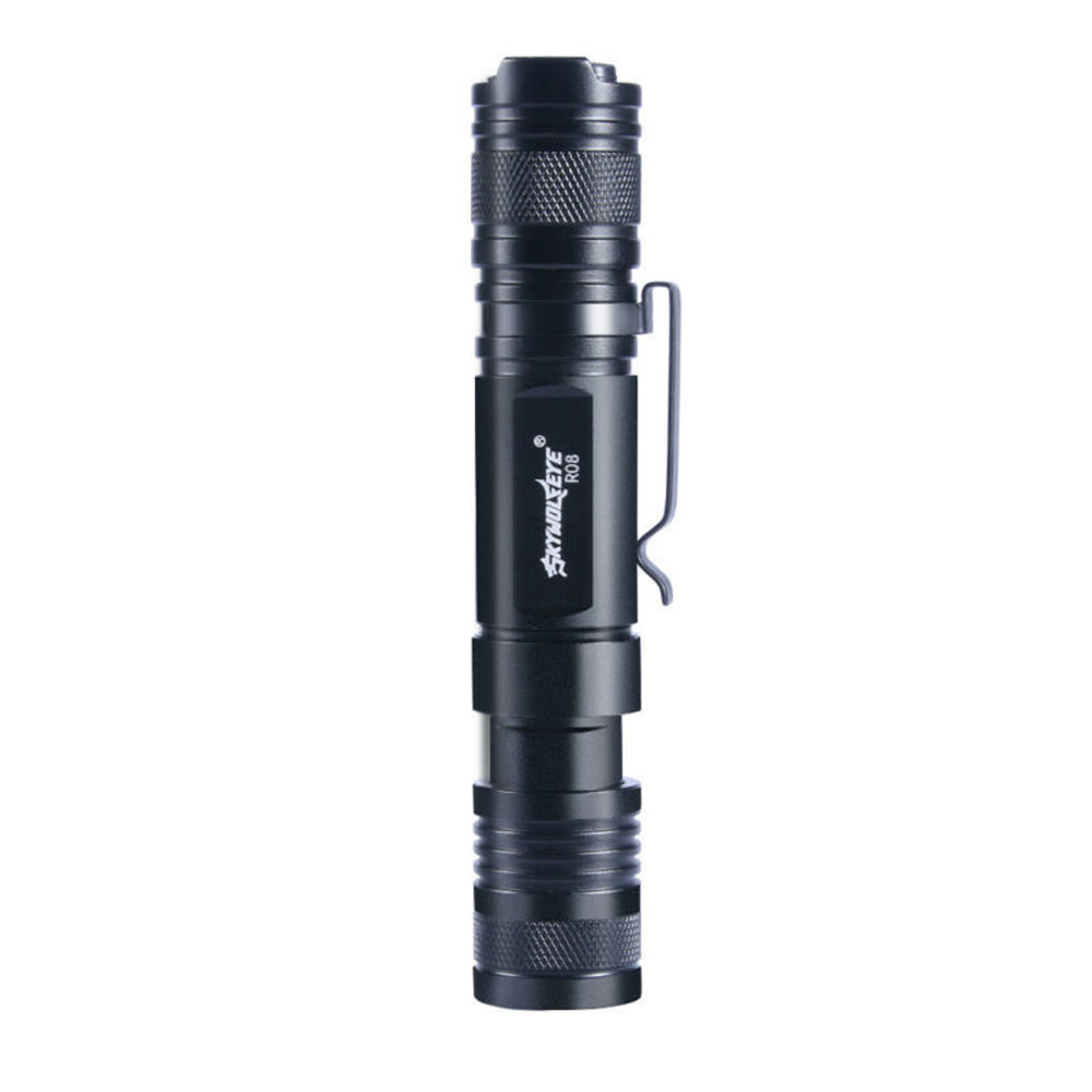 Skywolfeye LED Flashlight Telescopic Zoom Touch USB Rechargeable No Battery Aluminum Alloy Long Service Life|Outdoor Tools| |  - title=