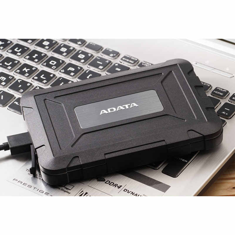Adata obudowa dysku twardego 2.5 usb 3.0 Sata obudowa usb ED600 zewnętrzny dysk twardy pole IP54 SSD napęd HD czarny USB3.1 stacja dokująca Dropship