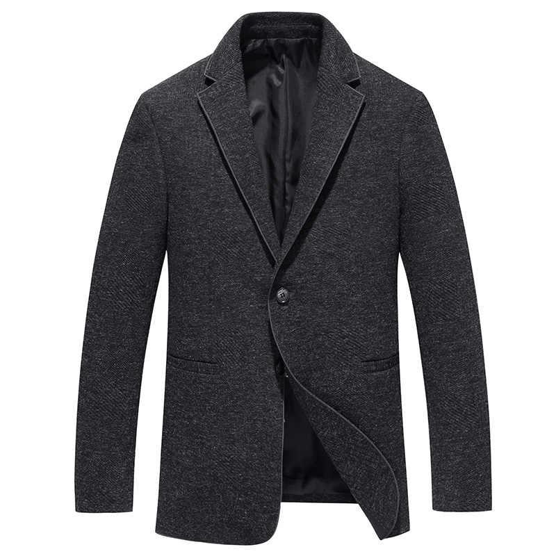 トップグレード2018新ファッションブランドブレザージャケットスリムフィットスーツコート韓国カジュアル男性服