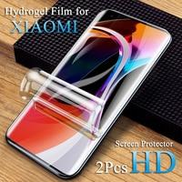 Protector de pantalla para Redmi K20 K30 10X Note 10 5G, película de hidrogel para xiaomi Redmi Note 7 4X 5A 6A 8A 9A 5Plus, funda de borde completo suave