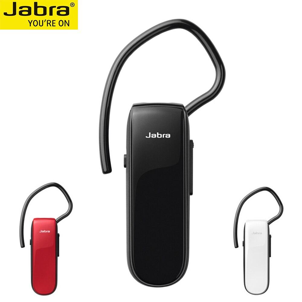 Jabra Classic Bluetooth Handsfree Earphones Mono Wireless Bluetooth Business Headset HD Voice A2DP Music GPS Navigation Car