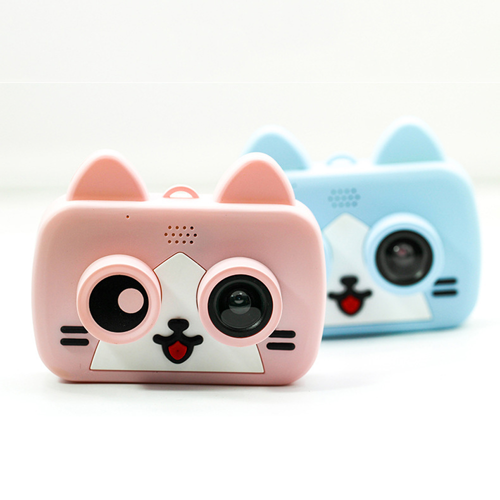 High Quality Children Digital Camera HD 2 Inch Cartoon Wifi Cameras Educational Toys For Kids Girls Boys Gift