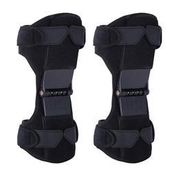 膝サポートパッド調節可能な膝サポートブースターアンプを緩和するための強力なリターンスプリング双方向ストラップ関節痛