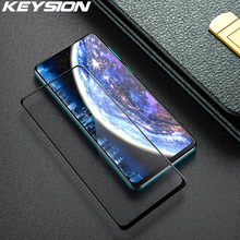 KEYSION Tempered Glass Full Cover For Redmi Note 9s 9 Pro Max  8T 8 Pro Protective Glass Screen Protector Film for Xiaomi Mi 10