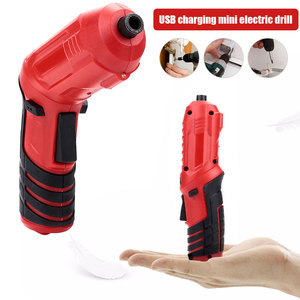 Electric Drill Red Black Carpe