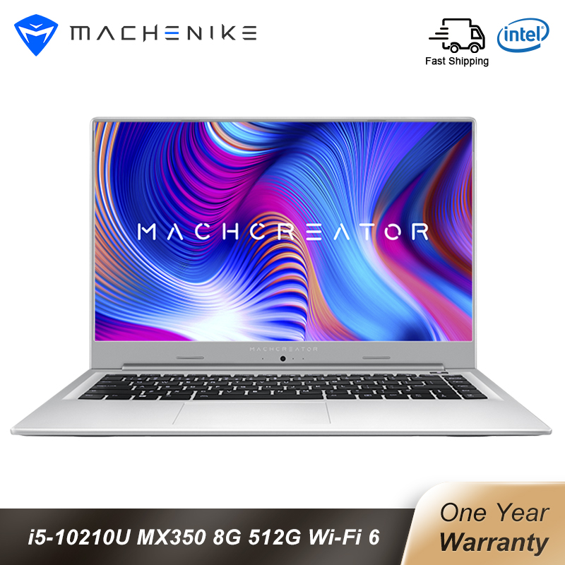 Machenike Machcreator-L 15 6 inch intel Laptop I5 10210U MX350 8G 512SSD Window 10 1920 1080 IPS Laptops with Backlit Keyboard