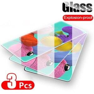 3Pcs Transparent Tempered Glas