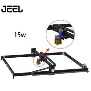 Image 2 - 1*1M2.5W/ 5.5W /15W CNC GRBL Laser Engraver Machine  TTL /PWM Control DIY 100*100cm Engraveing Machine Desktop CNC Router/Cutter